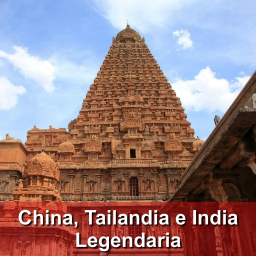 China, Tailandia e India Legendaria